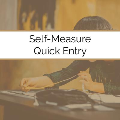 Measurement Quick Entry